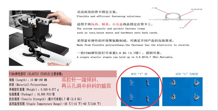 胶钉绑定机是什么?就让YIMA来告诉您(胶针和胶钉机新闻配图)